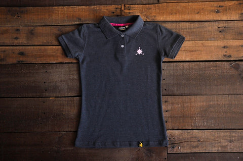Women's Polo Shirt (Black)