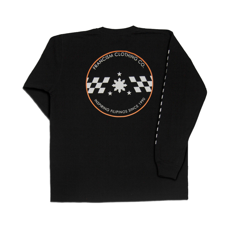 Men's Racing L/S (Black)