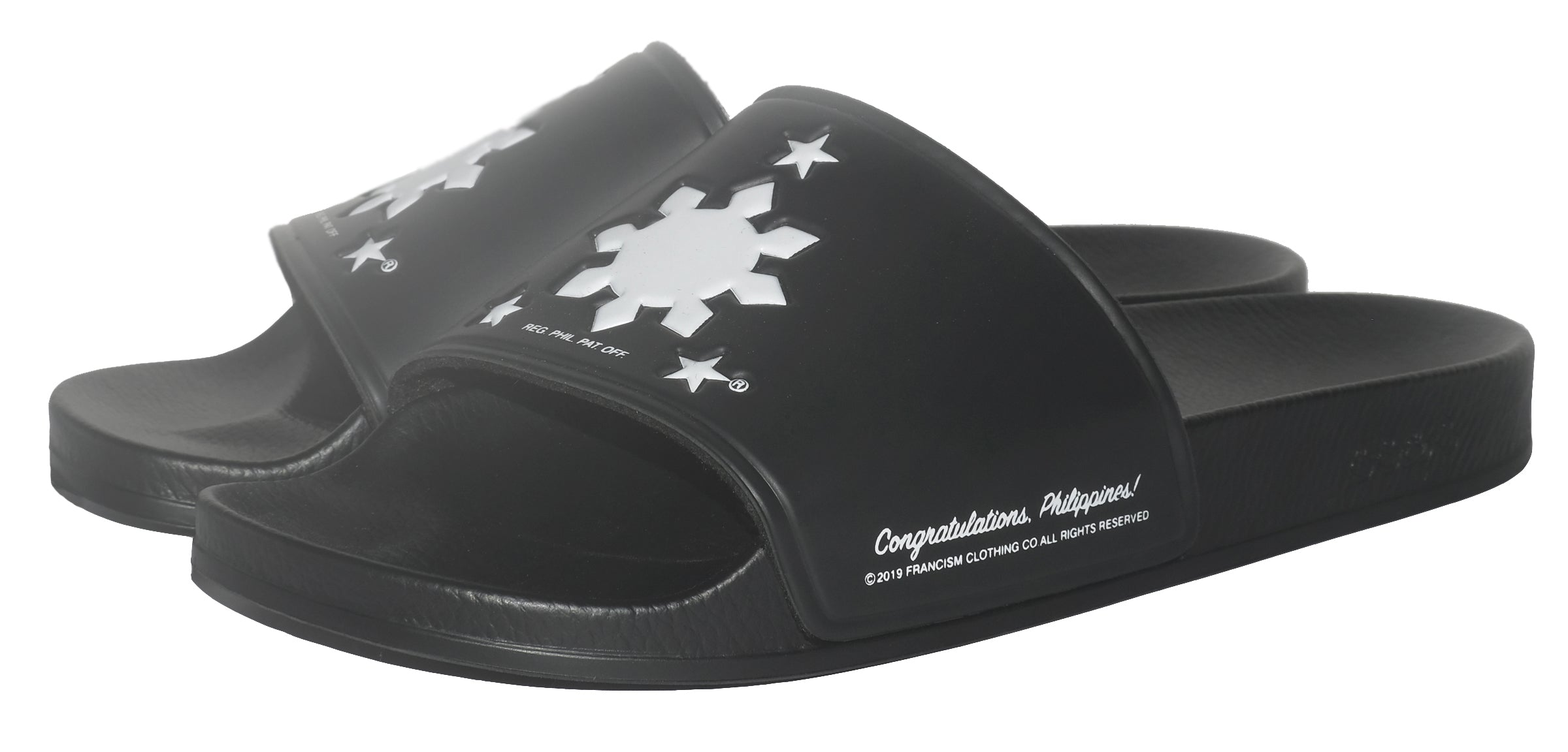 CONGRATULATIONS PHILIPPINES POOL SLIDES - BLACK