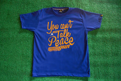 Men's Talk Peace (Royal Blue)
