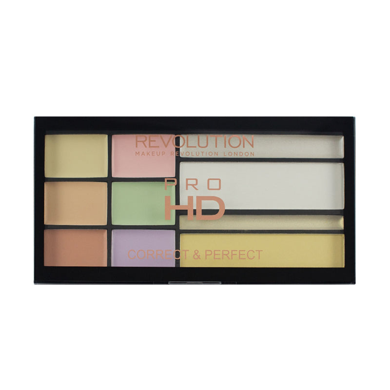 Paleta corectoare Makeup Revolution HD Correct and Perfect Palette