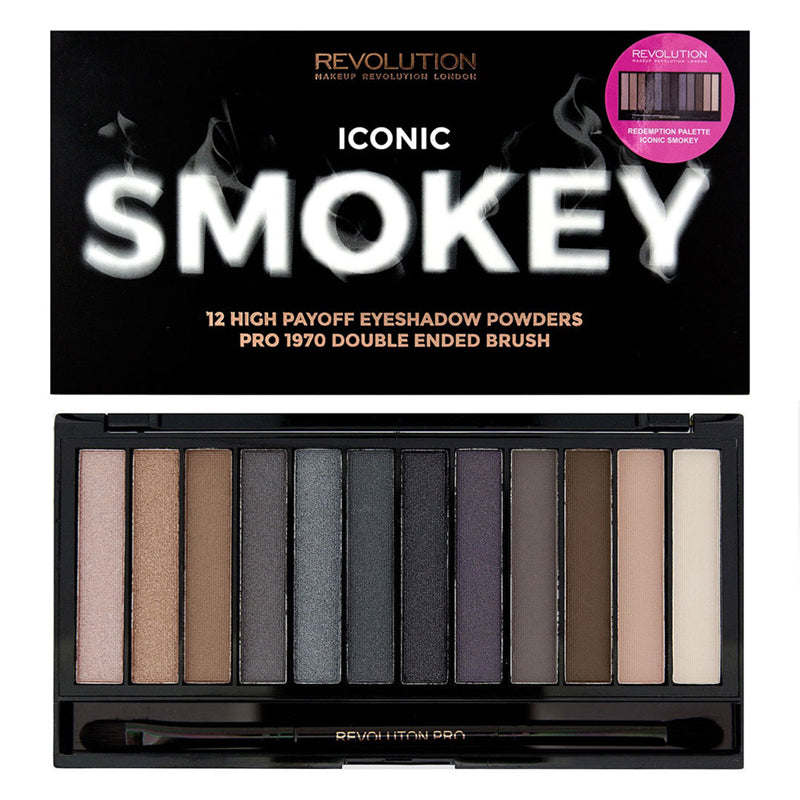 Paleta 12 farduri Makeup Revolution Iconic