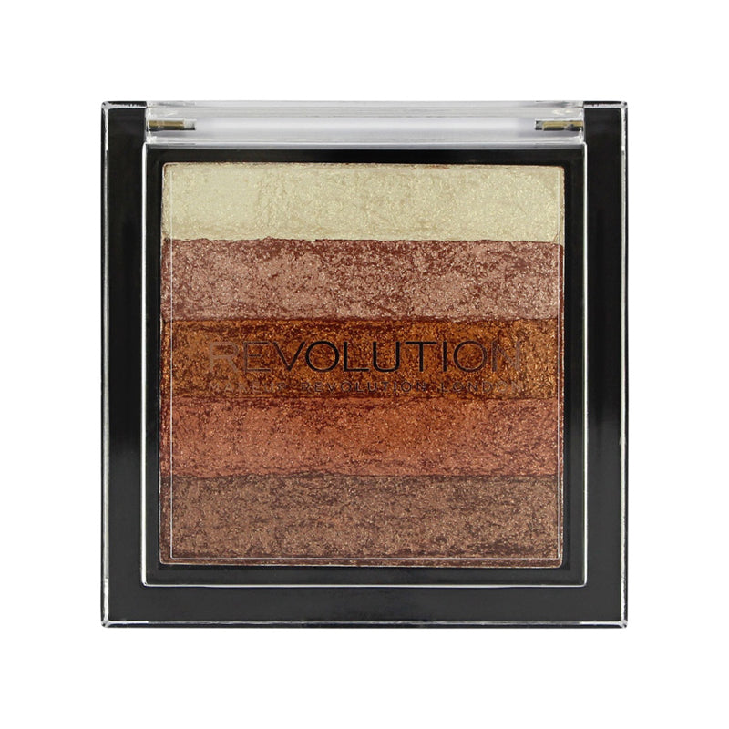 Iluminator Makeup Revolution Vivid shimmer brick Rose Gold