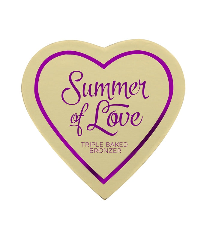 Bronzer I Heart Makeup Blushing Hearts - Love Hot Summer Bronzer