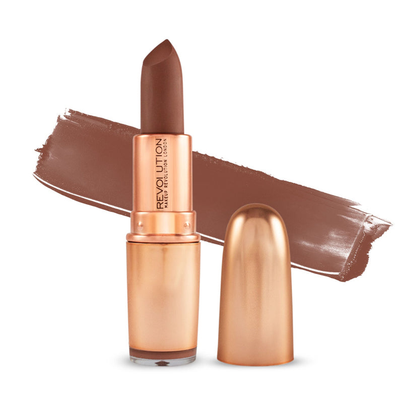 Ruj Makeup Revolution London Iconic Matte Nude