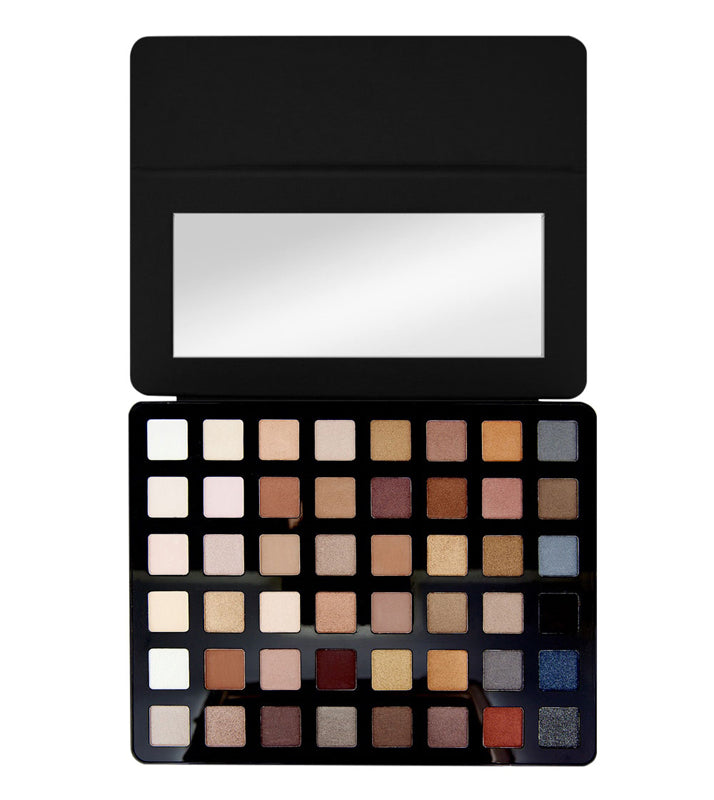 Paleta 48 de farduri Freedom Makeup London Pro Artist Pad Black Arts