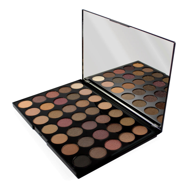 Paleta 35 de farduri Makeup Revolution Pro HD Amplified Luxe