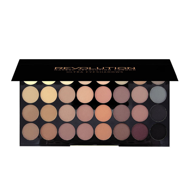 Paleta 32 farduri Flawless Matte Makeup Revolution London