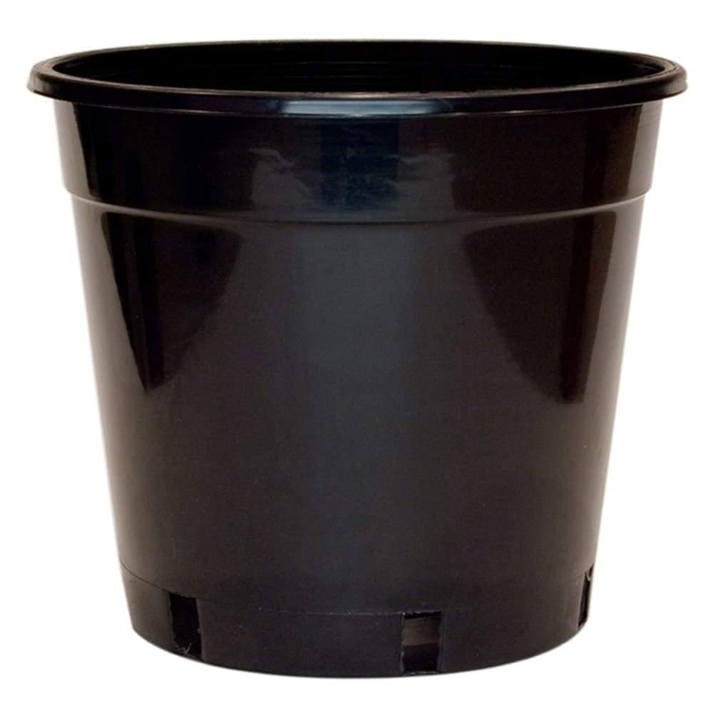 300mm Standard Black Plastic Pot - Each - Standard Pots