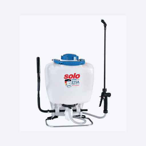 Solo Cleanline Acid Backpack Sprayer – 315A - 15Lt