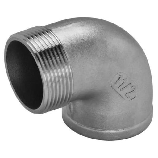 316 Stainless Steel Elbow MxF - 6 - Stainless Steel Threaded