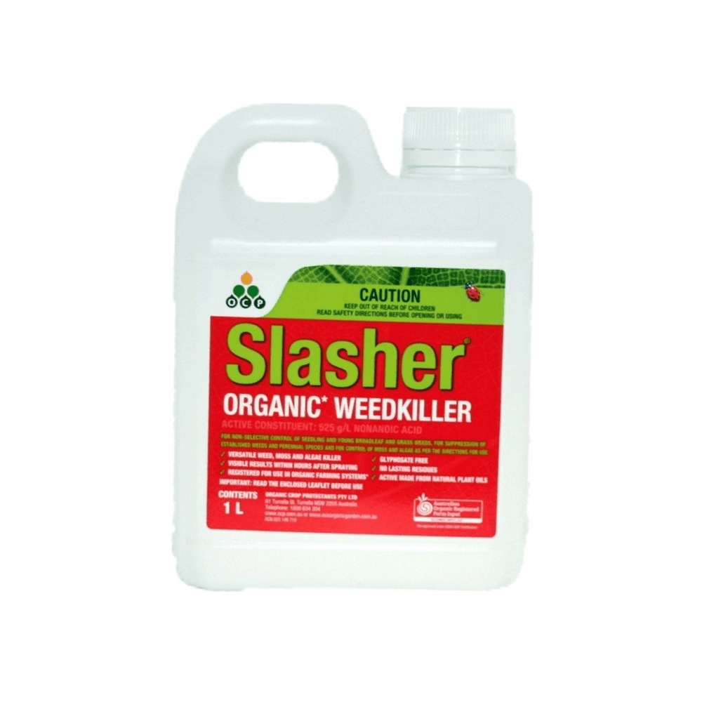 Slasher Organic Weed Killer 1lt