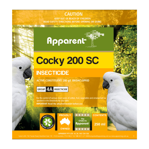 Apparent Cocky 200 SC 250ml