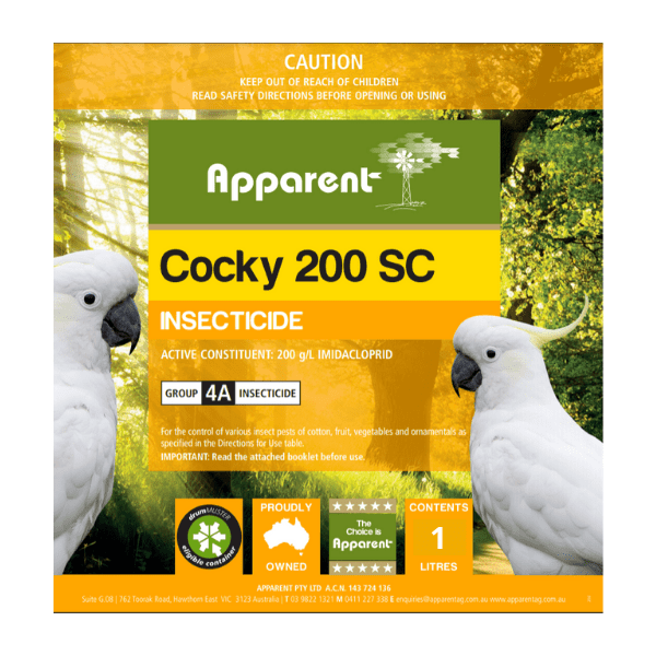 Apparent Cocky 200 SC 1Lt