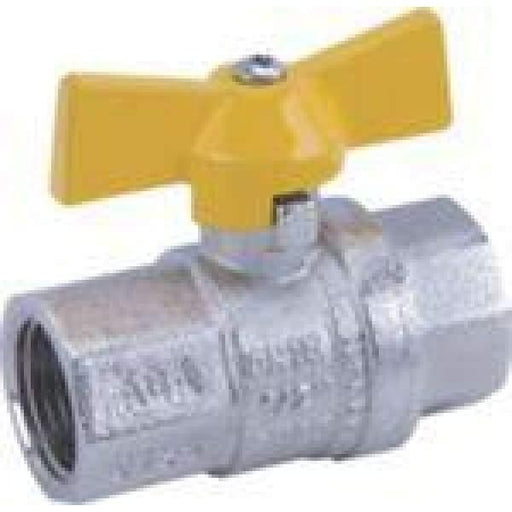 Brass Mini Ball Valve - 6mm M x F