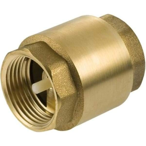 Brass Spring Non-return Valve - 13mm - Check Valve