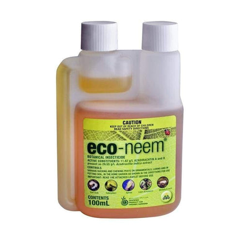 Eco Neem Oil Organic Insecticide - 100ml - Insecticide