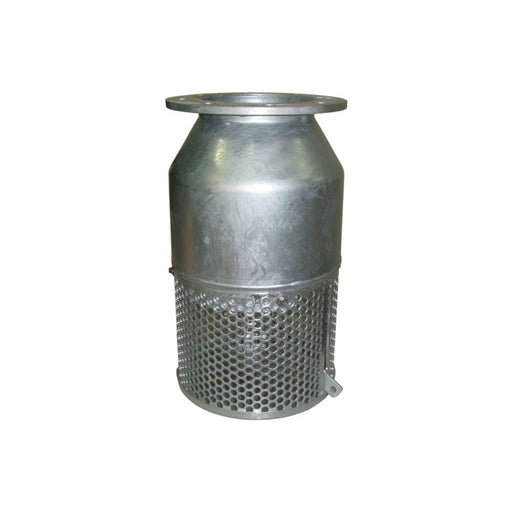 Gal Flanged Foot Valve - 80mm