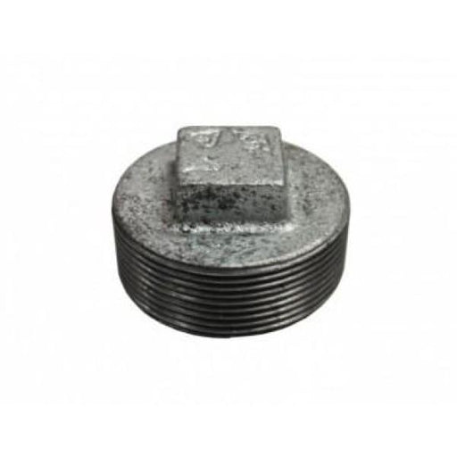 Gal Mal Plug - 3/8 - Galvinised Threaded