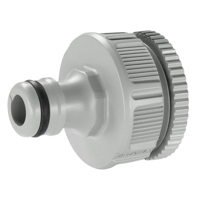 Gardena 13mm Tap Adaptor - Garden Hose Fittings - Plastic