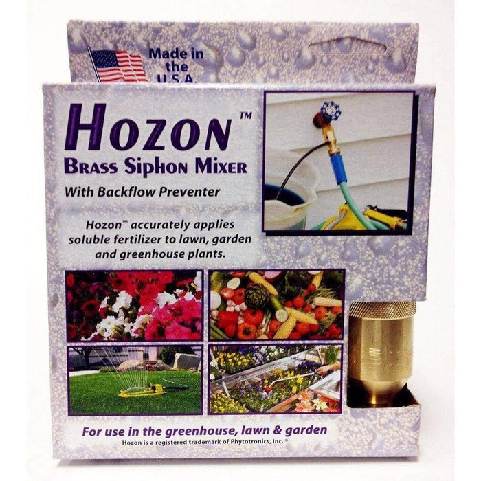 Hozon Brass Siphon Mixer - Nozzle and Wands