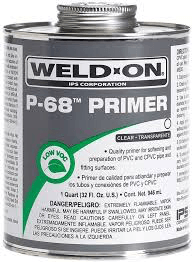 Weld-On P68 Clear Primer 437ml