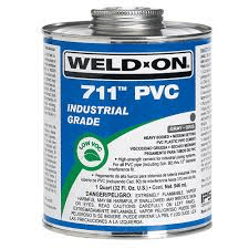 Weld-On 711 Grey Cement/Glue