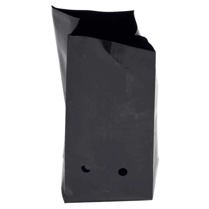 45L Black Poly Potting Bag