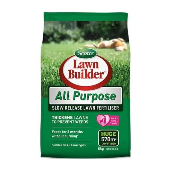 Lawn Builder All Purpose Slow Release Lawn Fertiliser - 2.5kg - Lawn Fertiliser