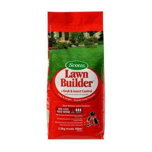 Lawn Builder Grub & Insect Control Slow Release Lawn Fertiliser - 2.5kg - Lawn Fertiliser