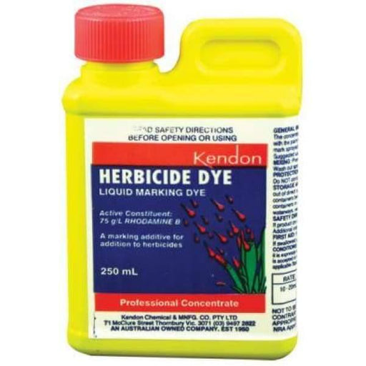 Liquid Marker Dye - 250ml - Herbicide