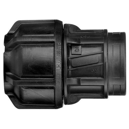 Metric End Connector P x FI - 16mm x 1/2