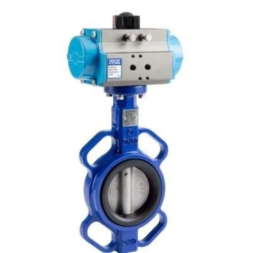 Pneumatic Butterfly Valve Air On / Spring Return - 3 - Butterfly Valves