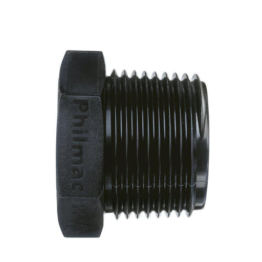 Poly Threaded Plug - 1/4 - Poly Threaded