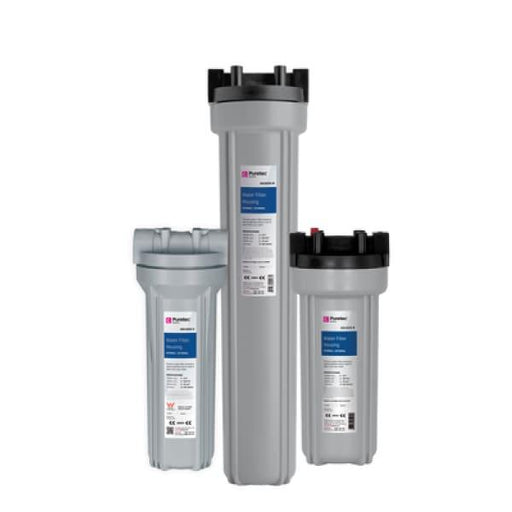 Puretec Water Filter Housing - 10 STD x 3/4 BSP - Housings
