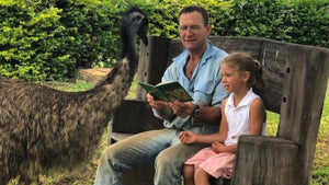 Wild emu named Fred has taken matters into his own hands