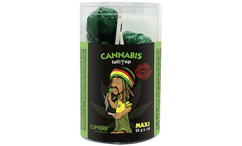 Cannabis Lollipops XXL   1 XXL Lolli 25g