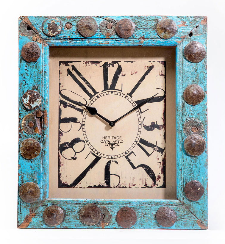 Upcycled Clocks