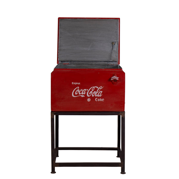 Coca Cola Cooler Box on Stand