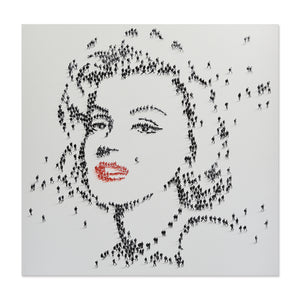 Handpainted Marilyn Monroe Canvas