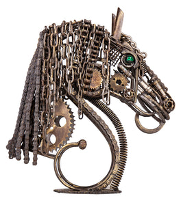 Wrought Iron Horse Head