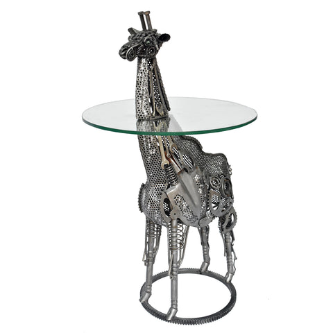 Wrought Iron Giraffe Table