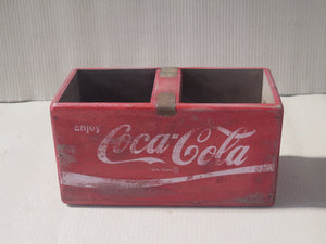 Rectangular Fish Box - Red Coca Cola