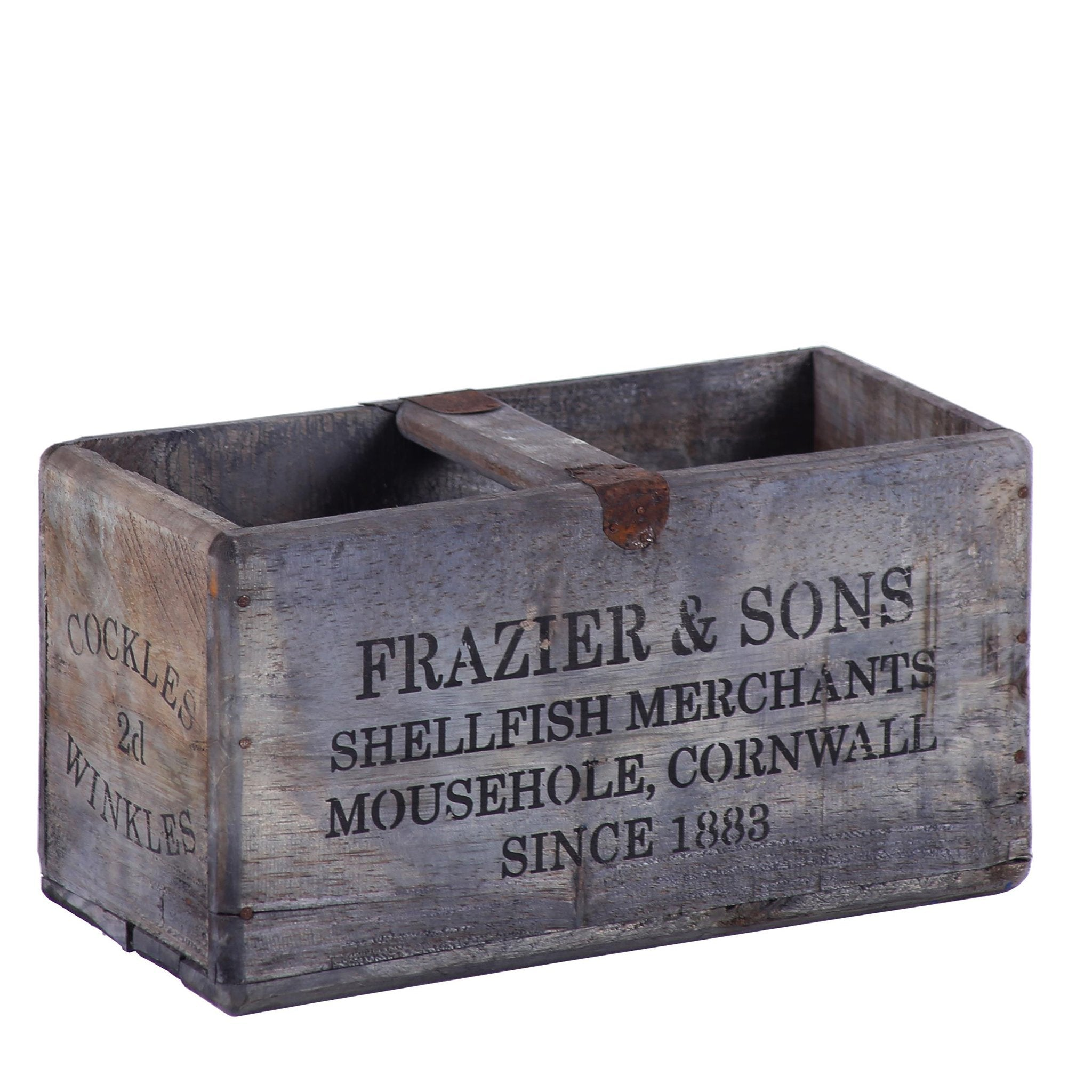 Rectangular Fish Box - Frazier & Sons