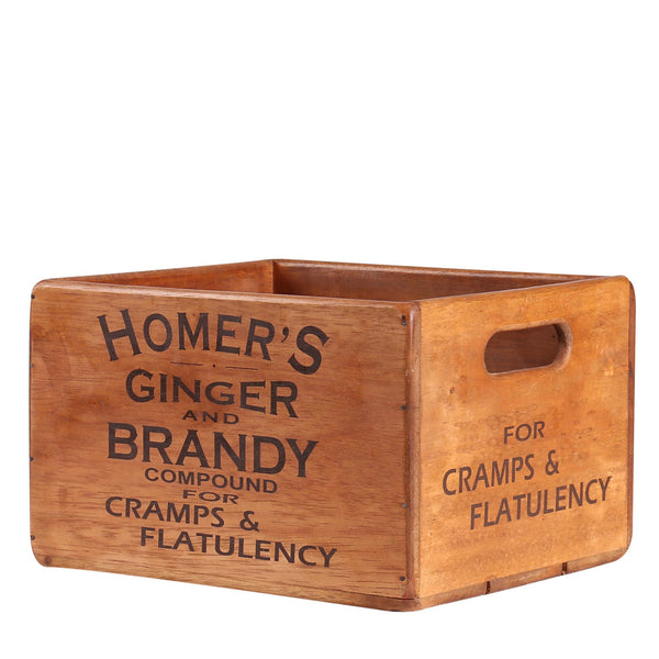 Homer's Ginger & Brandy Box for Display Rack