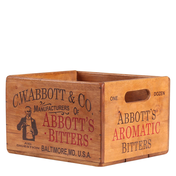 Abbott's Bitters Box for Display Rack