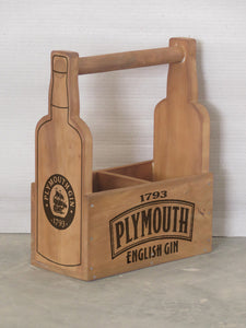Plymouth Gin Holder for 2 Bottles