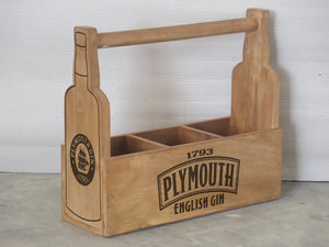 Plymouth Gin Holder for 3 Bottles