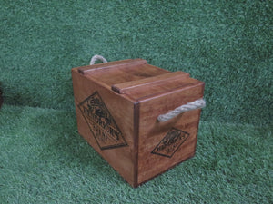 Hendrick's Gin Crate with Rope Handle for 6 Bottles