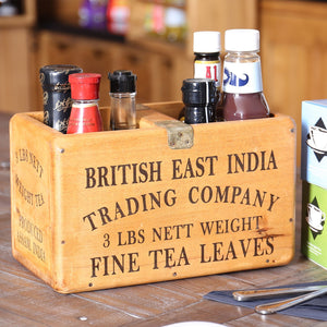 British East India Trading Company Medium Vintage Box